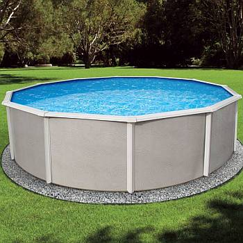 Belize Round Pool, Liner and Skimmer 15ft x 48in