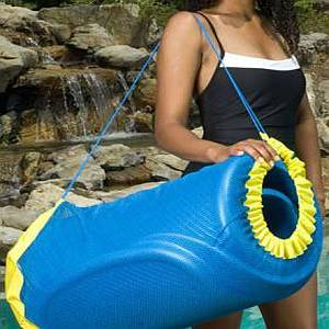 Unsinkable Float Tote Pool Float Carry Case