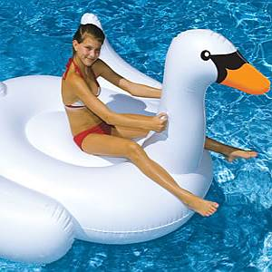 Giant Swan Float