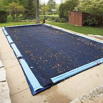In Ground Pool Winter Covers - Arctic Armor 15yr.