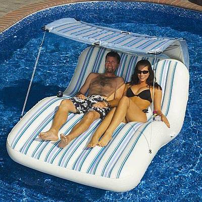 Luxury Cabana Pool Float