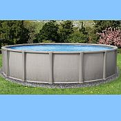 Matrix Oval Above Ground Pool and Skimmer 18ft x 40ft x 54 inch