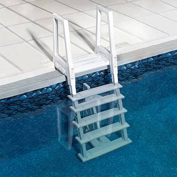 Deluxe Heavy-Duty In-Pool Ladder