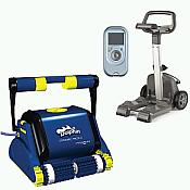 Dolphin 3002 Automatic Cleaner with Caddy & Remote