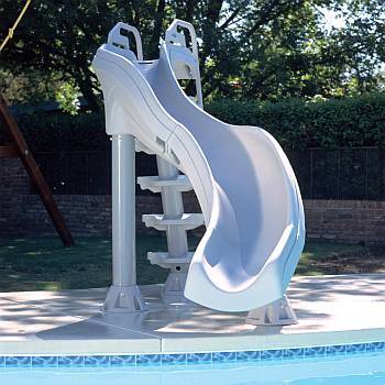 X-Stream 2 turn Pool Slide