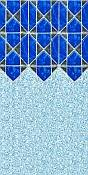 Mosaic Rectangle Vinyl Pool Liners