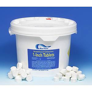 1inch Stabilized Chlorine Tablets - 25lbs.