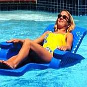 Unsinkable Chaise Lounger Pool Float