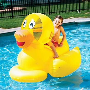 Giant Ducky Float