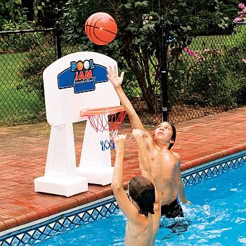 Pool Jam Basketball Game