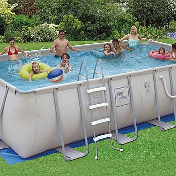 Metal Frame Set Swimming Pools