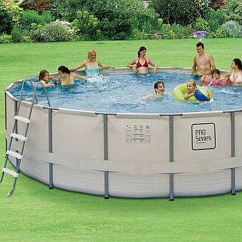 18 FT x 52 Inch ProSeries Metal Frame Swimming Pool