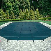 Mesh Safety Cover / Pool Size 12ft  x 24ft  Rectangle / 12 yr