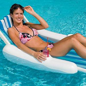 Sunchaser Sling Floating Pool Lounge