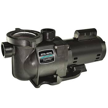 Sta-Rite Super Max 1 HP 2 Speed Swimming Pool Pump