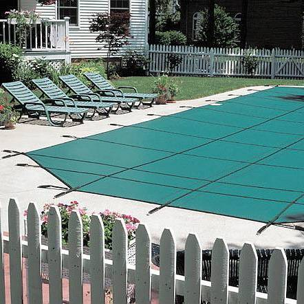 Ultra Light Solid Safety Cover - Pool Size 20ft  x 44ft Rectangle
