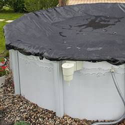 Rugged Mesh Pool Cover / 28ft Round
