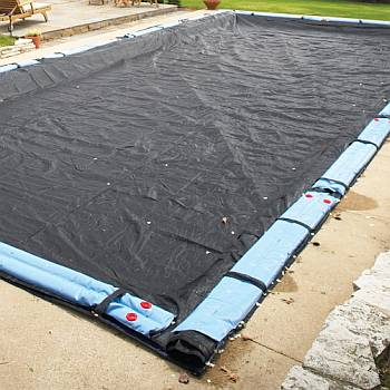 Rugged Mesh Winter Cover 12ft x 24ft Rectangle