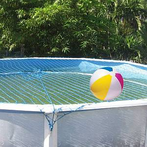 Water Warden 27Ft Round Above Ground Safety Net