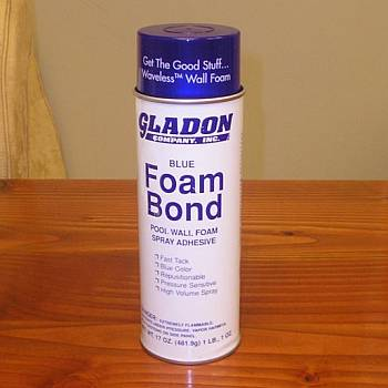 Wall Foam Spray Adhesive