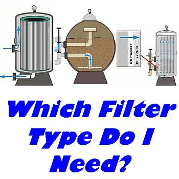 What Are the differences in types of filters?