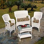 Midway All Weather Resin Wicker Furniture Set