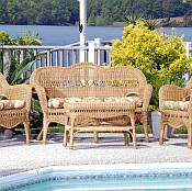 Sahara Resin Wicker Furniture Set