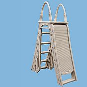 Roll-Guard A-Frame Ladder