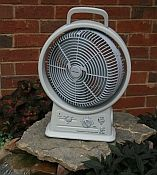 Outdoor Rechargeable Fan with Radio