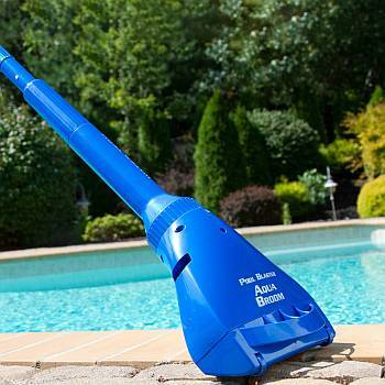 Pool Broom Cordless Battery Powered Vac