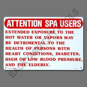 Attention Spa Users Sign