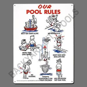 Rules- Children Animation Sign