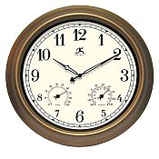 Craftsman Metal Outdoor Clock - 12144CP-1679