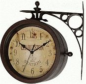 Charleston Indoor-Outdoor Clock/Thermometer