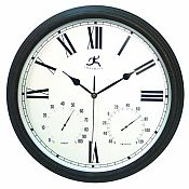 Radio Controlled Outdoor Wall Clock