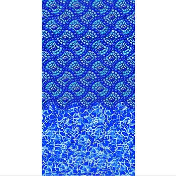 Vinyl Liner - AG  15ftX25ft Oval Pool - Monteray Beaded