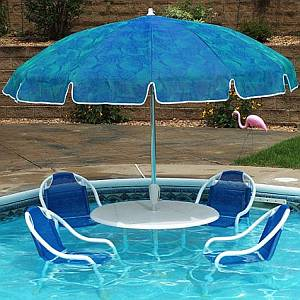 PoolParty Swimming Pool Patio Furniture