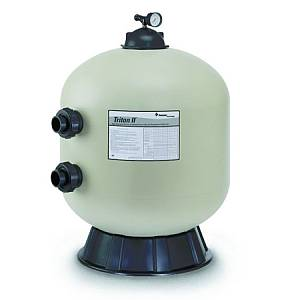 Pac-Fab Triton II TR60 24 Inch Side Mount Sand Filter No Valve
