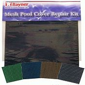 Pool Safety Cover Patch Kits for Solid and Mesh Safety Covers