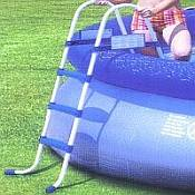 42in Fast Set Inflatable Pool Ladder