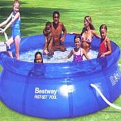 Inflatable Above Ground Swimming Pool - Fast Set 12ft x 36in
