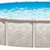 Magnus 24ft Round x 54 inch Hybrid Complete Pool Kit