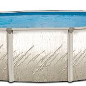 Pretium 24ft Round x 52 inch Pool, Liner and Skimmer