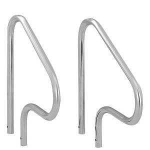 Stainless Steel Figure Four Set of Pool Handrails