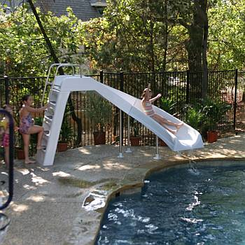 Aqua Blast Swimming Pool Slide