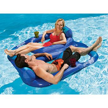 Pool Float- Spring Float Recliner Duet 13330