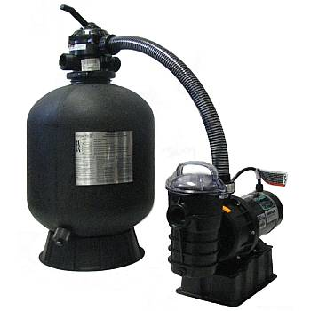 Sta-Rite 1HP Pump & 19in Sand Filter System