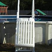 Above ground vinyl pool liners