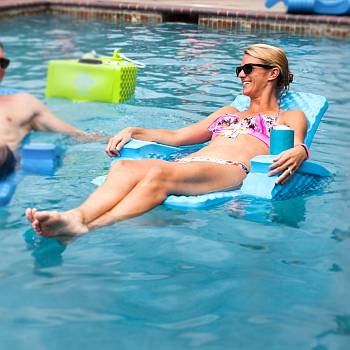 Folding Baja II Pool Chair
