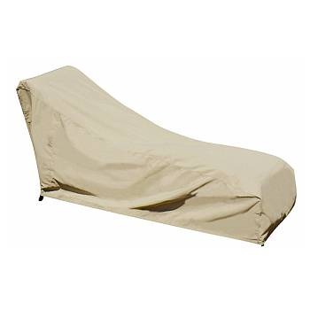 Chaise Lounge Cover with Elastic Hem